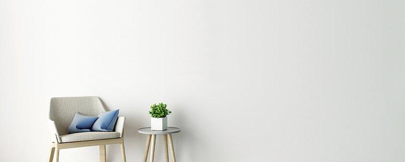 dark flooring white walls