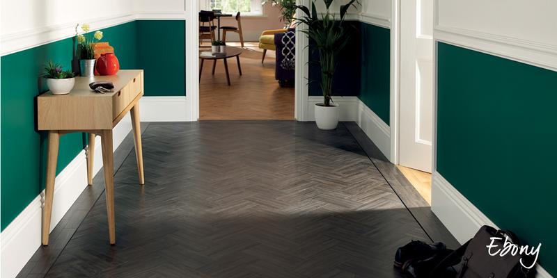 parquet flooring ebony