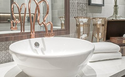 refresh your bathroom on a budget