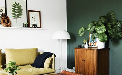 greenery colour trend