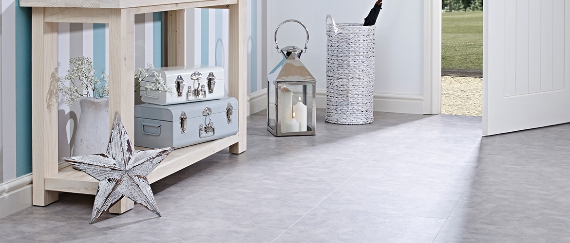 Vinyl Floor Tiles | Vusta Cool Stone