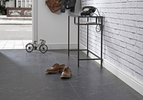 vinyl floor tiles polished slate