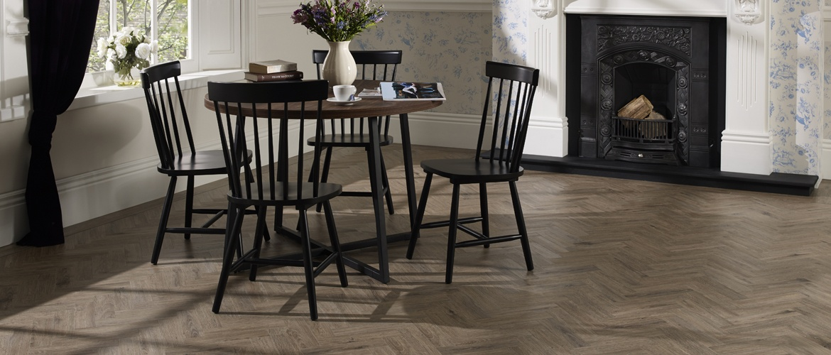 limed oak parquet flooring